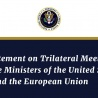Joint Statement on Trilateral Meeting of the Trade Ministers of the United States, Japan, and the European Union